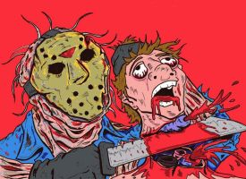 Friday the 13th by lagatowolfwood