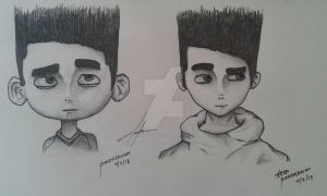 Teen ParaNorman by manchotyourface
