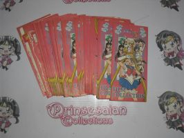 SAILOR MOON PULL PACKS BY AMADA S FILM CARDS by prinsesaian