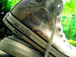 Metallica Converse 2 by AnythingButN0rmal