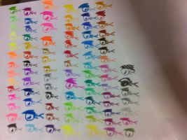 X's colours! by palalapunch