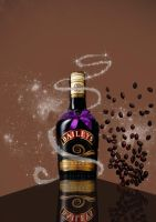 BAILEYS ADVERTISEMENT by GalaxyStarzDesign