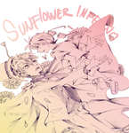 .:DCMK:. Sunflower of Inferno by KRISTALLENSI