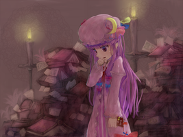 Patchouli Knowledge by elipon