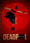 Deadpool Minimalism by skellerone