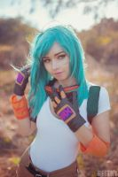 Motocross Bulma -02- by beethy
