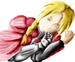 Edward Elric by Bleastvampire