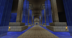 Minecraft - Water Temple WIP by SuneGem