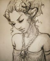 satyr sketch by DanielaUhlig
