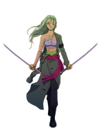 Final female Zoro by Shrinkhead13