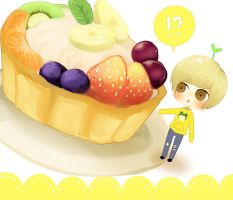 SHINee: fruit cake by manisaurus