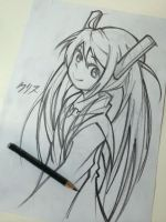 Black Bullet - Enju by yourcris