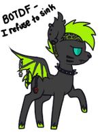 fuck you guys new oc by Poisonlicious