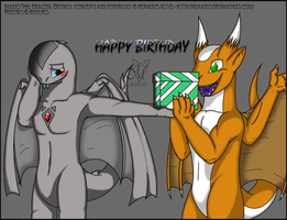 .:Gift:. H. Birthday Perjuro by SrMario