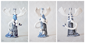 Lugia sculpture by Nakubi