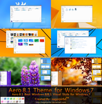 Aero 8/8.1 Theme for Win 7 by sagorpirbd
