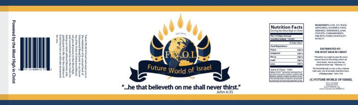 FWOI Bottle Label for Passover 2013 by ZeLuhT