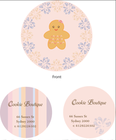 Cookie Boutique logo by paulinatj