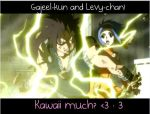 Gajeel and Levy - Kawaii by MrsDerekSouza