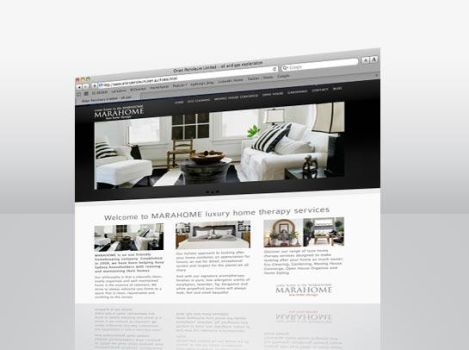 Website MarahomeS by egdesign01