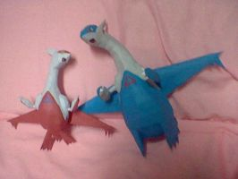 Latios and Latias by PrincessStacie