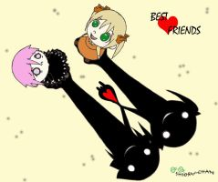 Best Friends forever by shioru-chan