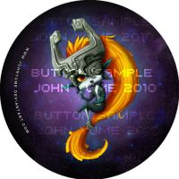 Midna Button by JohnYume