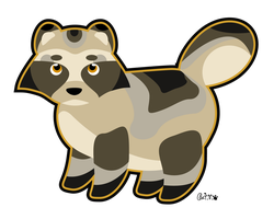 Tubby Tanuki by Cappies