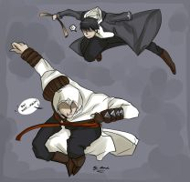 Damn you Altair by AtomicKitten13