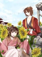 +Hakuouki: sunshine+ by Hetiru