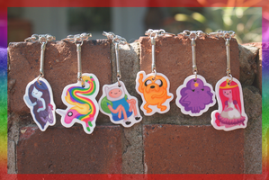 Adventure Time Key Chains V3.0 by Picklecheesepie