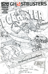 Ghostbusters #9 Sketch Cover 4 by T-RexJones