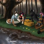 Picnic in the Woods by ayzewi