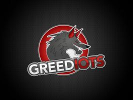 Logo for GREEDIOTS black version by FROQ-ART