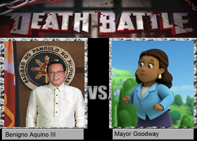Death Battle - Benigno Aquino vs. Mayor Goodway by MatthewJabezNazarioI