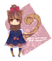 G: HAPPY BIRTHDAY SHI-SENPAI by MiruKami