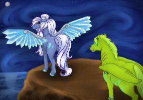 Contest Entry for AlimarePonies by DragonsFlameMagic
