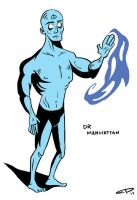 Dr. Manhattan by EvanPearTree