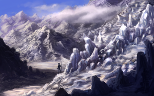 Snowy Mountains by Mandilor