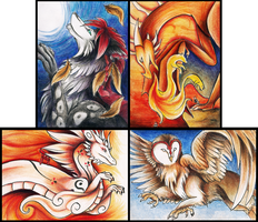 ACEO Batch 4 by Lyswen