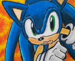 Sonic (YT Profile Pic) by Loor101