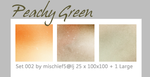 Peachy Green by mischief5