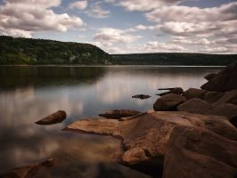 dreamy day at Devil's Lake by ariseandrejoice