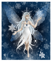 Winter Fairy by VeronickArt