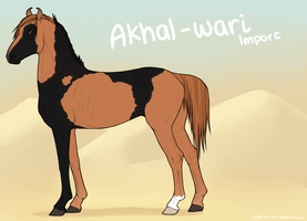 Akhal-Wari Import 045 by horsy1050