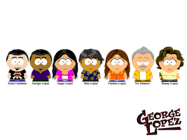 George Lopez: South Park by MrAngryDog