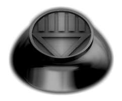 Black Lantern Ring by KalEl7