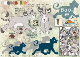 Reference Sheet - Boo by BooYeh