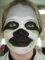 Sloth makeup 1 by anne-t-cats