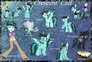 Crescent Call - Reference Guide by Kazziepones